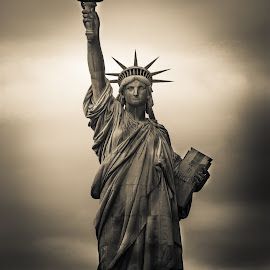 Liberty by Tony Castillo - Buildings & Architecture Statues & Monuments