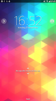 Screenshot of Xperia™ theme - Triflat