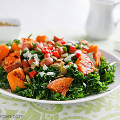 ... sweet potato casserole kale salad with chicken and sweet potato
