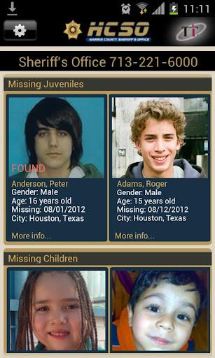 HCSO Been Missing