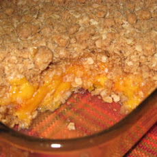 Fresh Fall Peach Crisp