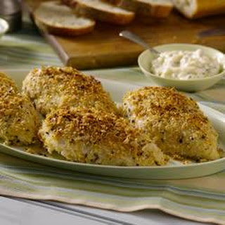 Italian-Style Baked Crispy Chicken Breasts