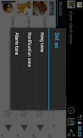 Screenshot of Alarm clock tones