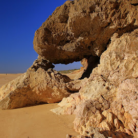 North rock by Gil Reis - Nature Up Close Rock & Stone ( sand, beache, nazaré, sky, nature, portugal, stones, rocks )