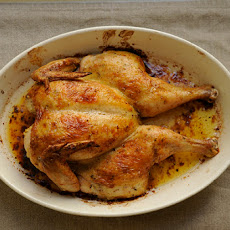 Spatchcocked Roast Chicken