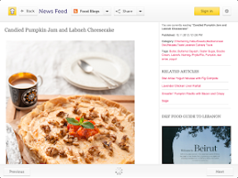 Screenshot of Cooklet for tablets