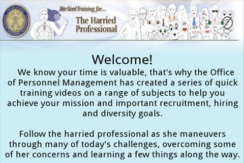 The Harried Professional