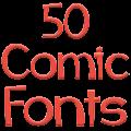 Free Download Fonts for FlipFont 50 Comic APK for Samsung