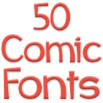 Fonts for FlipFont 50 Comic 3.3.0 Apk