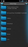 Screenshot of Filer - file manager