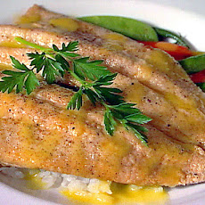 Rainbow Trout with Jasmine Rice and Citrus Vinaigrette
