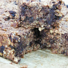 Chocolate and Banana Flapjacks