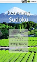 Screenshot of Learning Sudoku