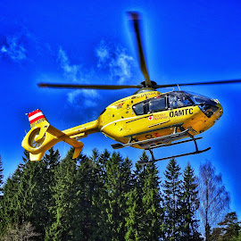 by Jose Figueiredo - Transportation Helicopters ( helicopter, eurocopter, norway,  )
