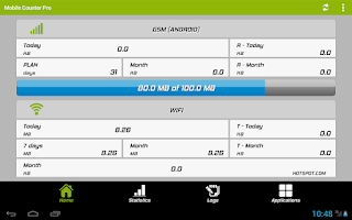 Screenshot of Mobile Counter Pro - 3G, WIFI