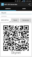 Screenshot of Wifi QR Code Generator