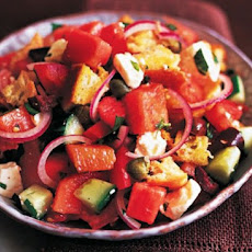 Keep Cool: Watermelon Panzanella Recipe