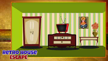 Screenshot of Retro House Escape