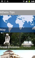 Screenshot of Greece Travel Guide