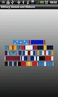 Screenshot of Military Medals & Ribbons