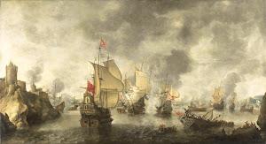 RIJKS: Abraham Beerstraten: painting 1656