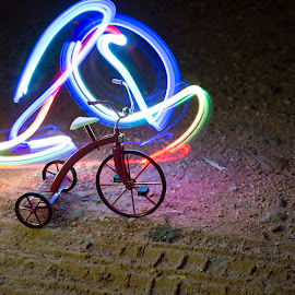 by Condie Friddle - Abstract Light Painting (  )