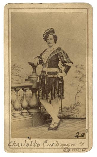 Charlotte Cushman, ca. 1865