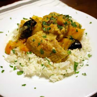Moroccan Chicken with Kumquats and Prunes
