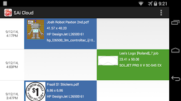 Screenshot of SAi Cloud