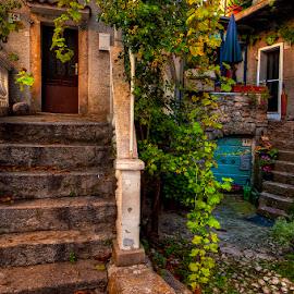 Vrbnik by Miro Cindrić - City,  Street & Park  Neighborhoods