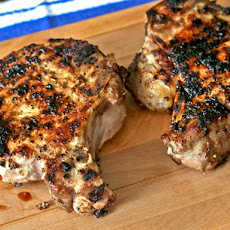 Dinner Tonight: Porcini-Rubbed Pork Chops