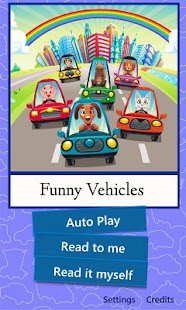 Funny Stories – Funny Vehicles - screenshot