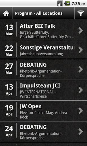 【免費商業App】Junge Wirtschaft Vorarlberg-APP點子