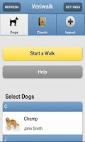 Screenshot of Veriwalk