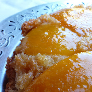 Mango and Coconut Sponge Cake