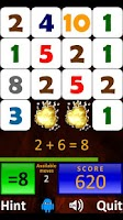 Screenshot of Droid Math 4 Kids Free
