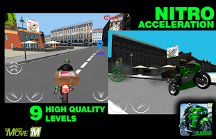 Screenshot of Real Motor Bike Racing 3d