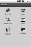Screenshot of Free sms by whozzat