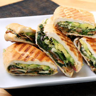 Mexican Mushroom and Spinach Sandwich (Vegan Torta)