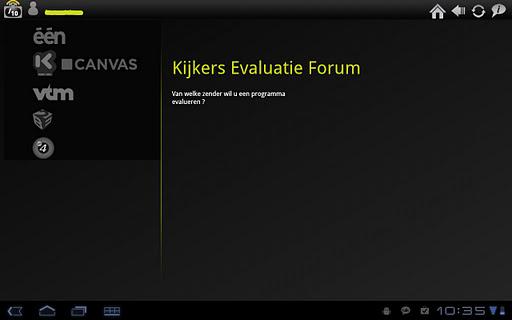 Kijkers Evaluatie Forum Tablet