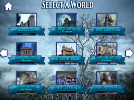 Screenshot of Hidden Objects Haunted Worlds