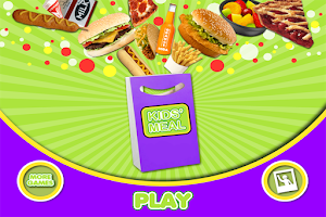 Screenshot of Kids Meal Maker FREE