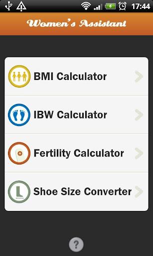 BMI - Women's Assistant
