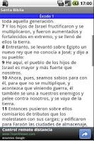 Screenshot of Santa Biblia Gratis
