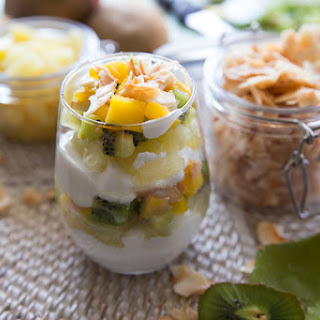 Tropical Frui & Yogurt Parfait
