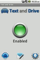 Screenshot of Text and Drive