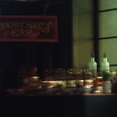 Bloody Mary Bar... Toppings included cucumbers, cherry tomatoes, scallions, bacon, peppers, olives,