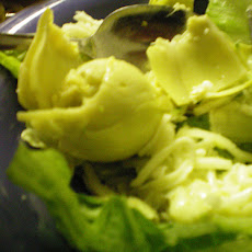 Hearts of Romaine, Palm & Artichoke W/ Citrus Dijon Dressing