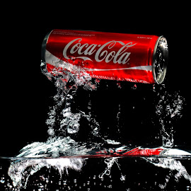 Coca Cola by Wiem Jordison - Food & Drink Alcohol & Drinks ( coke coca cola drink splash )