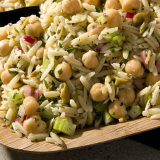 Celery and Olive Orzo Salad